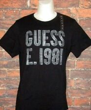 MENS GUESS BLACK T-SHIRT SIZE M