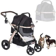 Hpz Pet Rover Prime 3-in-1 Luxury Dog/Cat/Pet Stroller Travel Carrier + Car