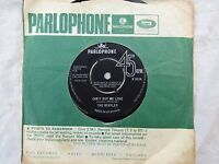BEATLES CAN'T BUY ME LOVE / YOU CAN'T DO THAT parlophone 5114  pop '60's 45 rpm