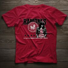 Joey Ramone Ramones Band Do You Remember Rock 'N Roll Radio Logo T-Shirt