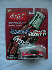Johnny Lighting Coca Cola 2003 Americana collection 1956 Chevy Bel Air convertib