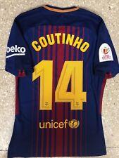 Coutinho Barcelona Match Unworn / Prepared Shirt 2018 Final Copa Del Rey