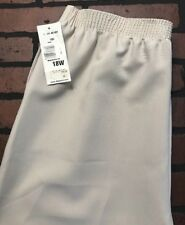 7eeb33a4a4d Alia Plus Feather Touch Pull on Pants 18w Ltstone