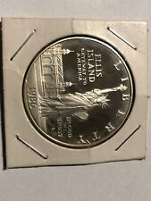 1986 s. Ellisis Island coin silver proof