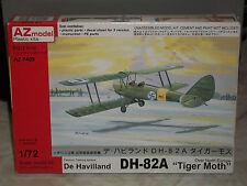 "AZ Model 1/72 Scale De Havilland DH-82A ""Tiger Moth"" Over North Europe"