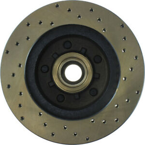 StopTech Drilled Sport Brake Rotor - st128.66000R