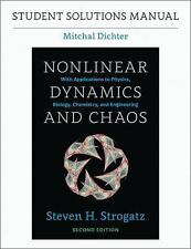 Student Solutions Manual for Nonlinear Dynamics and Chaos, 2nd Edition (Paperbac