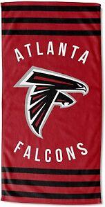 The Northwest Company Atlanta Falcons 30 x 60 Striped Beach Towel  NEW!!