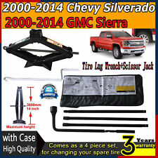 Spare Tire Tools Scissor Jack  For GMC Silverado Sierra Chevy Yukon XL1500 2500