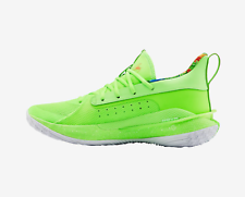 Under Armour Stephen Curry 7 X Parche amargo Niños Verde Lima 3021258 302 Talla 4-13