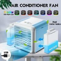 Mini climatiseur USB Portable 7 couleurs, climatisation, refroidisseur d'air