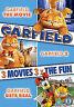 Garfield - The Movie / Garfield 2 - Tale Of Two Kitties / Garfield Gets Real DVD