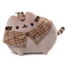 Gund New * Detective Pusheen * 12-Inch Plush Cat Grey Tabby Kitty Stuffed Toy
