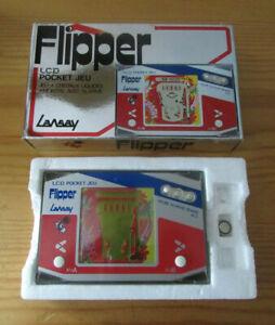 Jeu LCD Flipper Lansay  en boite Pocket Jeu style Game&Watch