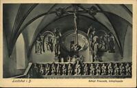 Landshut Bayern Postkarte ~1920/25 Schloß Trausnitz Inneres der Schloßkapelle