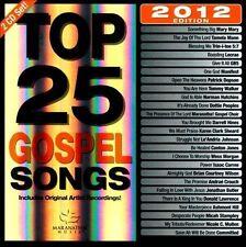 Maranatha! Gospel : Top 25 Gospel Songs 2012 Edition CD
