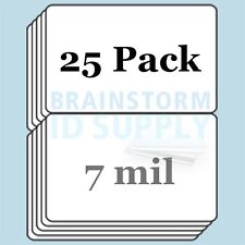 7 mil Credit Card(CR80) Size Butterfly Laminate Pouches for Teslin - 25 pack