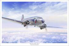 "DC-3 Eastern Air Lines Aviation Art Print 16"" x 24"""