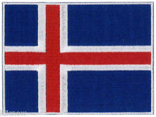 "Iceland Embroidered Patch 12 X 9CM (4 3/4"" X 3 1/2"")"