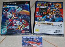 Rockman x7/MEGAMAN x7 per ps2 PLAYSTATION 2 JAPAN JPN * Nuovissimo Sigillato *