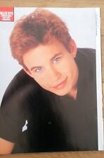 JONATHAN TAYLOR THOMAS SH magazine PHOTO/Poster/clipping 11x8 inches