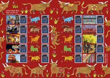 GB 2020  - Lunar New Year - Year of the Ox Generic Smilers Sheet - GS-132/LS-130