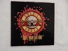 "GUNS N' ROSES ""Live and Let Die"" BRAND NEW PROMO ONLY CD! NEVER PLAYED!"