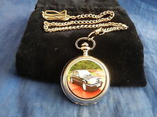 ROVER SD1 CHROME POCKET WATCH WITH CHAIN (NEW)