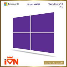 [Invio via Email] Licenza Originale COA Windows 10 Pro ESD  *Fatturabile