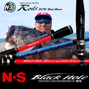 Ns Black Hole Saltwater Spinning Rod Red & Blue