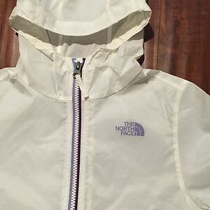 NWT ~ Auth. The North Face Flurry Wind Hoodie Girls Zipped Jacket - Size S (7/8)