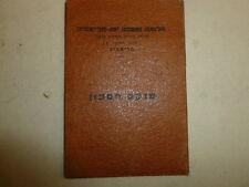 TEL AVIV JAFFA LOAN BANK SAVING BOOKLET EARLY 1950 israel