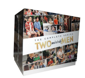 Two and a Half Men the Complete Series Seasons 1 - 12 (DVD, box set )!