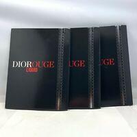 Dior DioRouge Liquid Lipstick Samples 4x0,4ml (LOT OF 3) New