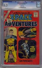 SPACE ADVENTURES #41 CGC 6.5 WHITE PAGES CHARLTON