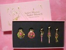 Sailor Moon & sailor moon R Pins & Charm Set of 5 20th Japan Limited Rare