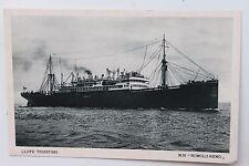 27423 cartolina nave LLOYD TRIESTINO MN Romolo-Remo PC steamper AK Schiff