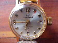 WALTHAM Swiss 17 Jewel Waltham Automatic Ladies Watch Working  Incabloc H662
