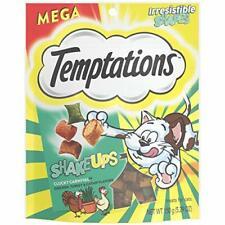 New listing Temptations ShakeUps Crunchy&Soft Cat Treats,Clucky Carnival Flavor,5.29oz.Pouch