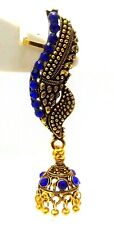 EAR CUFF Golden Oxidized Earring Jhumka Jhumki Ethnic Jewelry Long Dangle E42