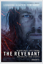 "The Revenant -Leonardo DiCaprio - Tom Hardy - Actor Movie Star 24""x36"" Poster"