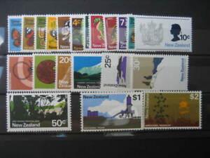 NEW ZEALAND NHM SET-1970/6 PICTORIALS SG 914/34
