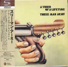 THREE MAN ARMY-A THIRD OF A LIFETIME-JAPAN MINI LP SHM-CD Bonus Track Hi25
