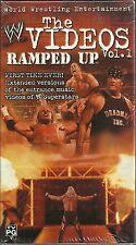 WWE Ramped Up - The Videos Vol 1 (VHS, 2002) Kurt Angle, Undertaker, Kane - NEW