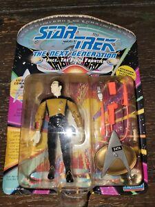 STAR TREK NEXT GENERATION Lt. Commander DATA ACTION FIGURE Playmates 1992 - NEW