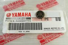 ORIGINAL Yamaha-3D-PVC Hartkunststoff-MINI-EMBLEM-1,2cm-Aufkleber-12mm-Lenker