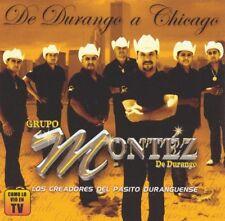 Grupo Montez de Durango de durango a Chicago CD New Sealed