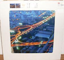 GLASBILD PRO ART GLA021B Glas-Art Stadt Metropole Highway by Night 50x50cm City