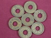 7 Watling Mfg Company Chicago IL Early 5 Slot Machine Manufacturer Tokens Trade