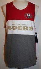 46ae5c324 NFL San Francisco 49ers Men s GIII Extreme Tank Top - Red White Gray